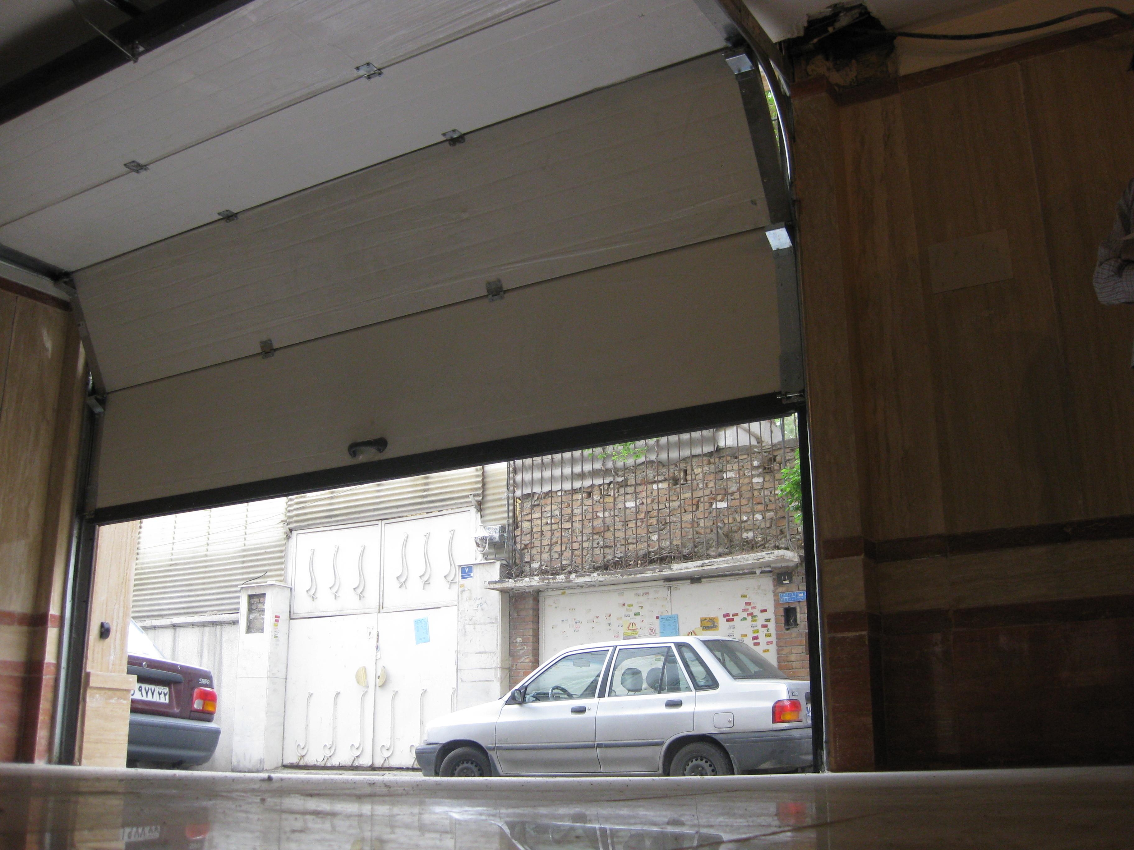 درب اتوماتیک زیر سقفی - در سکشنال   ایران فیدار