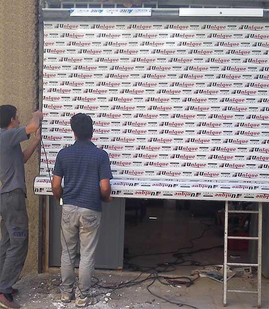 آموزش نصب کرکره برقی - نصب درب کرکره ای در اصفهان | ایران فیدار